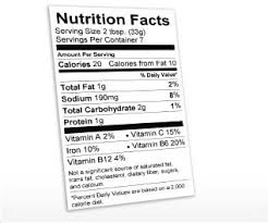 nutrition facts label maker free software daily