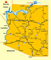 arizona distance map driving distance map Map Northeastern Arizona map showing miles between arizona cities map northeast arizona