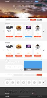 best images about psd website templates flats coupon coupons and promo codes psd template design webdesign template web