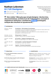 resume ux designer resume ux ui designer on student show
