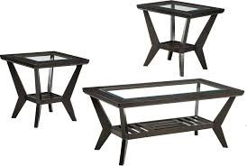 ashley coffee table sets coffee tables ashley down 3 piece coffee table set