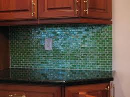 kitchen backsplash glass tile green. Kitchen Backsplash Glass Tile And Stone . Green