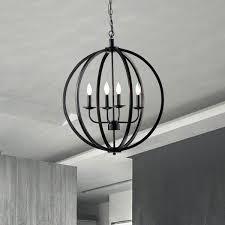 metal orb chandeliers antique black metal orb chandelier with 4 lights metal orb chandelier world market