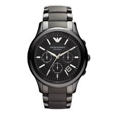 emporio armani watches beaverbrooks the jewellers emporio armani ceramic men s watch