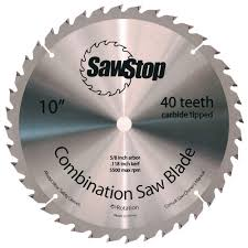 table saw blade. 40-tooth combination table saw blade t