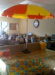 office party decorations. Beach Party Table 2 Office Potluck My Decorations Pinterest