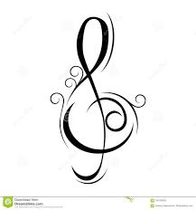 Treble Clef Music Treble Clef Music Illustration Stock Illustration Illustration Of