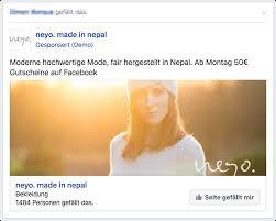 Die Optimalen Bilder Für Ihre Facebook Werbung Know How Auf