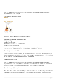 Ultimate Guitar Chord Chart The Ultimate Guitar Chord Chart Review By Ramzi168 Issuu