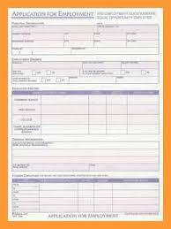 8 9 Standard Job Application Format Aikenexplorer Com