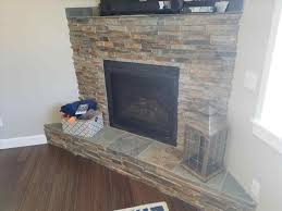 fascinating slate tile fireplace surround photos best idea home