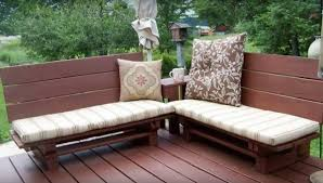make furniture out of pallets. Pallets-recycle-into-garden-furniture-decking Make Furniture Out Of Pallets