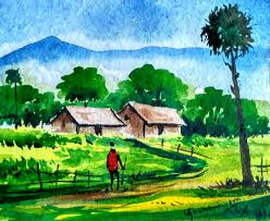 landscaping for beginners best of how to paint a watercolour landscape watercolor painting for