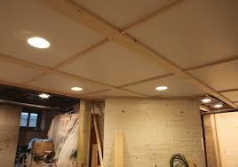 unfinished basement ceiling ideas. Image Of: Basement Ceiling Tile Ideas Unfinished O