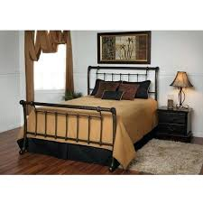 Metal Sleigh Lovely Metal Sleigh Bed With King Size Metal Sleigh Bed ...