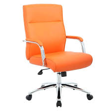 orange desk chair boss modern executive conference chair orange orange office chair nz