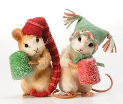 Christmas Mouse   All Mice And Rats   Pinterest   Mice, Sugaring ...