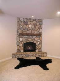 best corner stone fireplace