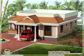 style one story house design green homes thiruvalla kerala