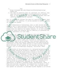 Information System And Knowledge Management Essay