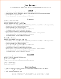 Basic Resume Example 24 How To Write A Basic Resume Templates Professional Resume List 20