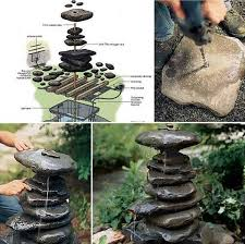 4 neat and simple to realize rock fountain
