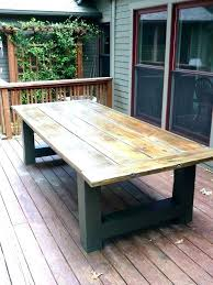 wood patio furniture table chairs round bench my diy deck