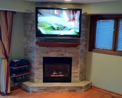 installing a gas fireplace in a finished basement