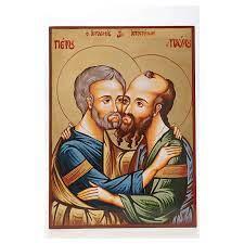 Icona Santi Pietro e Paolo