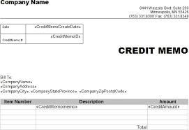 Credit Memo Letter Sample Credit Memo Previousnext Sample Of Credit Note Credit Note 9