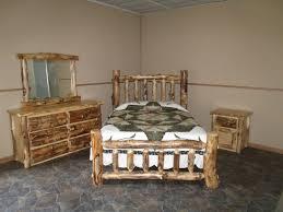 Log Bedroom Suites Aspen Log Furniture