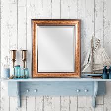 hartley rectangular bronze vanity mirror