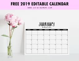 Your calendar is a perfectly formatted microsoft word® document, ready to. Pin On Printables