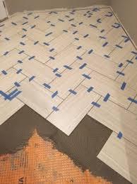 how to replace bathroom tiles. Bathroom Floor Installation In Progress How To Replace Tiles