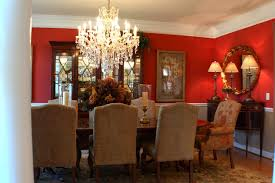 Red Dining Rooms Home Interior Decorating Ideas Adorable Red Dining Rooms Collection