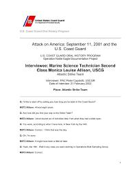 Marine Science Technician Interviewee Marine Science Technician Second Class Monica