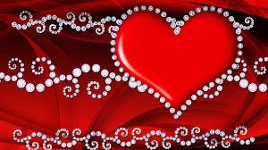 Red Love Heart Hd Wallpaper 086 ...