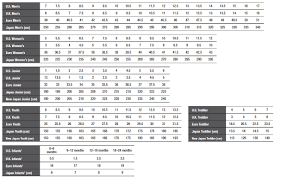 North Face Shoe Size Chart The North Face Gloves Size Chart Images Gloves And