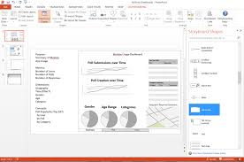 Design For Powerpoint 2013 Powerpoint My Dashboard And Report Design Tool Data On