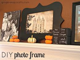 diy photo frame with your silhouette 2 small