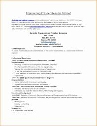 Electrical Engineer Fresher Resume Sample 1080 Player