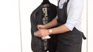 jacket and coat care spot cleaning leather