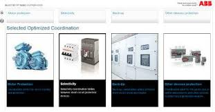 tmax t circuit breakers low voltage abb soc selected optimized coordination web tool for the selection of abb low voltage