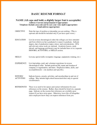 Format For References On A Resume Lcysne Com