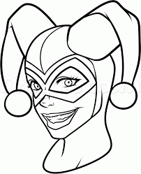 fresh harley quinn coloring pages 40 in free coloring book with harley quinn coloring pages