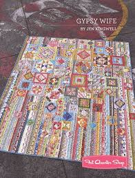 Gypsy Wife Quilt Pattern Extraordinary Gypsy Wife Quilt Pattern Booklet Jen Kingwell Designs JKD48