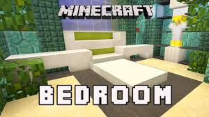 Minecraft Interior Design Bedroom Minecraft Tutorial How To Make A Modern Bedroom Design Coral