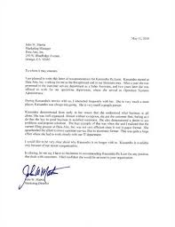 Employee Recommendation Letter For Graduate School Military
