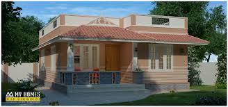 accompanied with nature small house design kerala