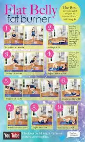 workout dels flat belly fat burner